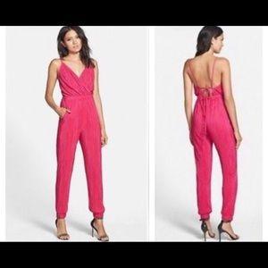 june & hudson Pink Jumpsuit